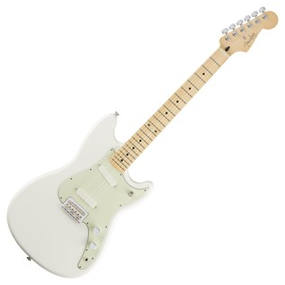 Fender Duo-Sonic Electric Guitar, MN, Arctic White