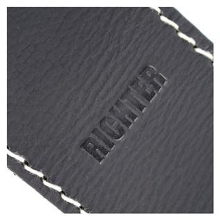 Richter Guitar Strap Logo