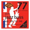 Rotosound RS77S Jazz Bass Flatwound Bass Guitar Strings, 40-90