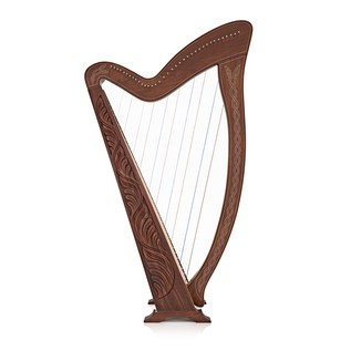 36 String Harp with Levers by Gear4music