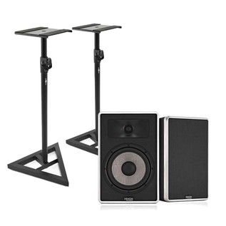 Denon DN-306S Studio Monitors with Free Stands, Pair