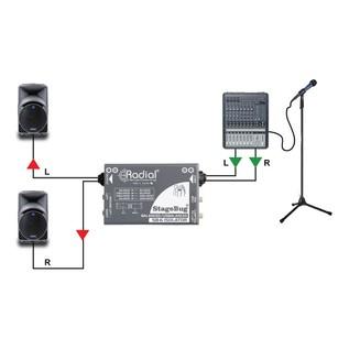 Radial StageBug SB-6 Isolator