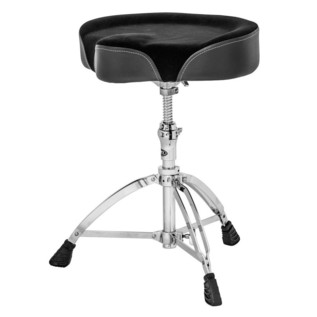 Mapex T765A Saddle Cloth Top, Threaded Base Drum Throne