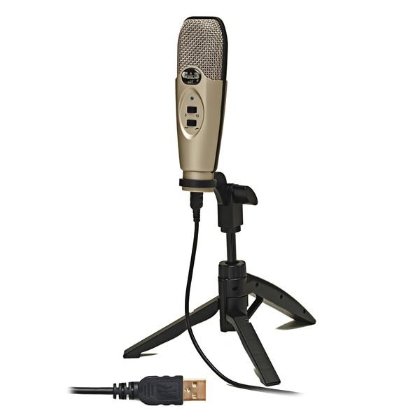CAD U37 USB Microphone - Angled