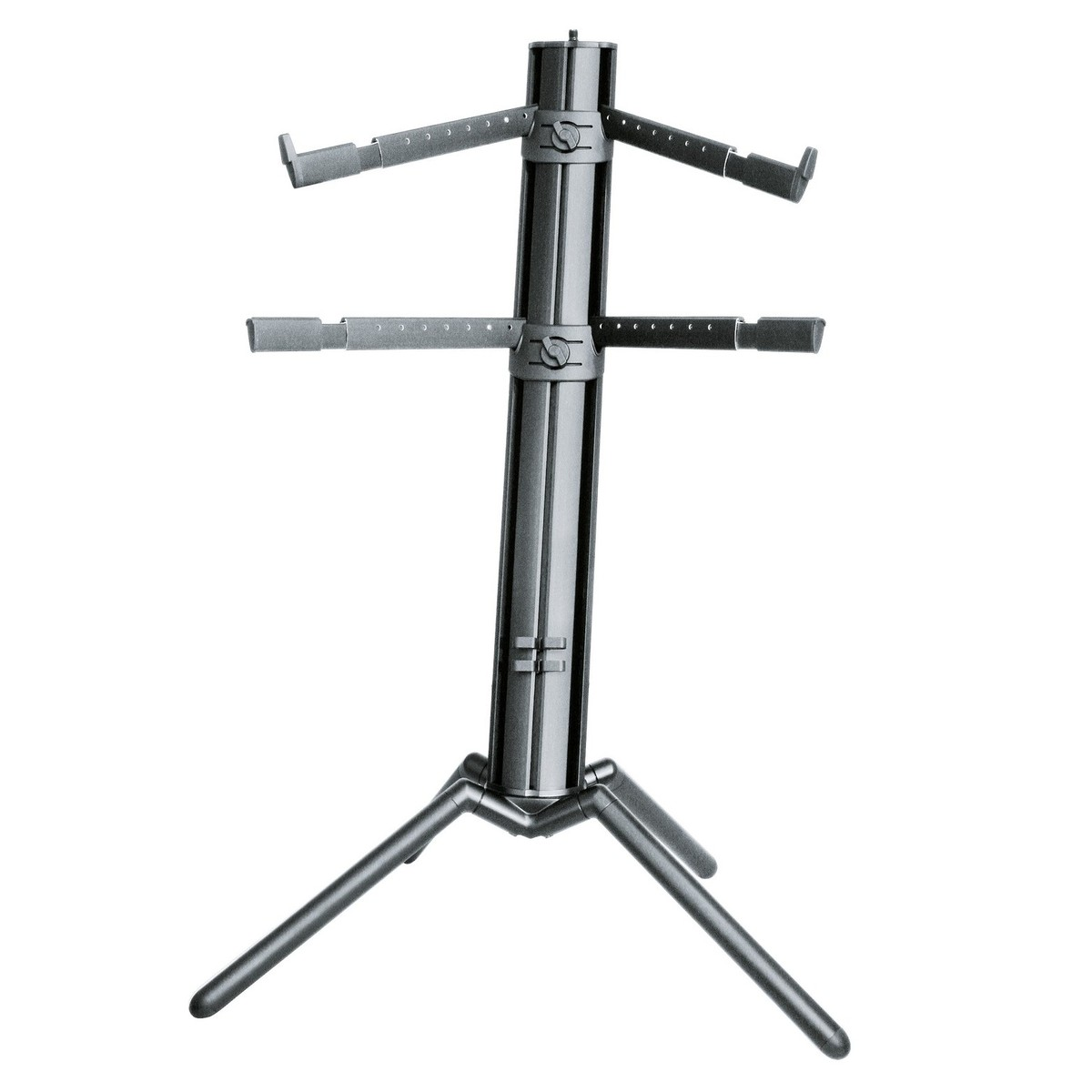 k m 18860 spider pro keyboard stand black at gear4music. Black Bedroom Furniture Sets. Home Design Ideas