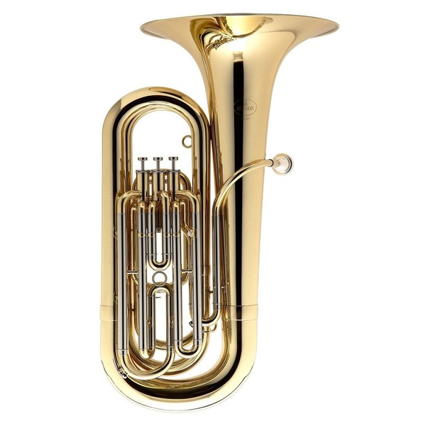 Besson BE187 Prodige Bb Tuba, Clear Lacquer