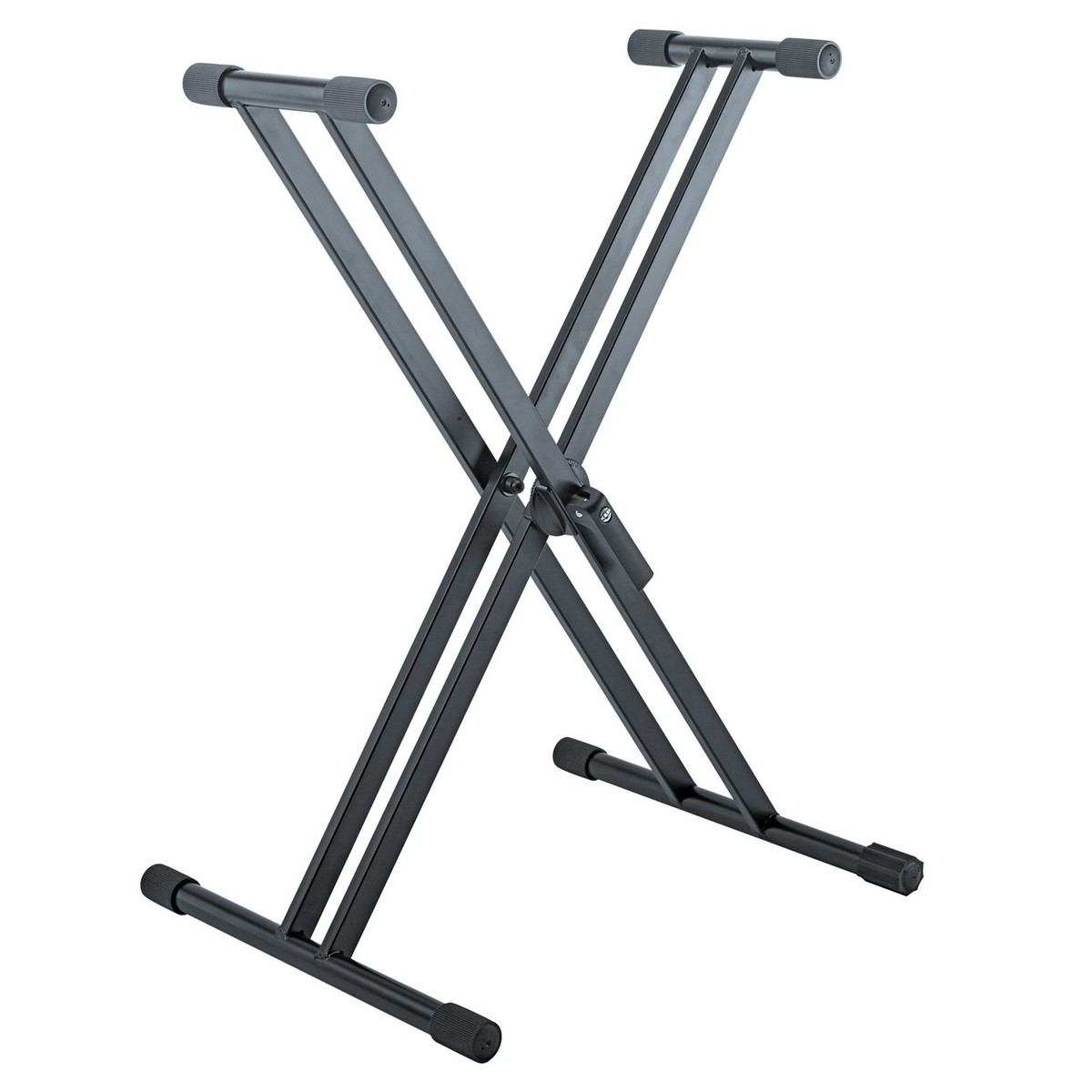K&M 18993 X Frame Keyboard Stand, Black at Gear4music.com