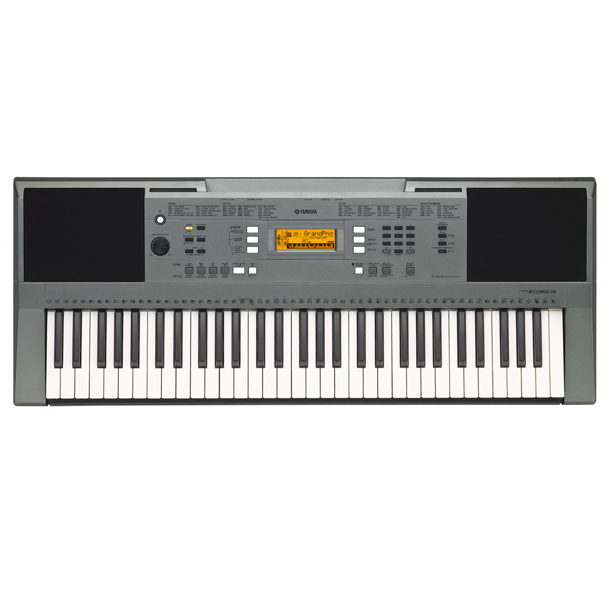 yamaha psr e353 portable keyboard box opened at. Black Bedroom Furniture Sets. Home Design Ideas