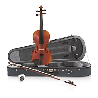 Yamaha V7SG Intermediate Violin, 1/2 Size - Box Opened