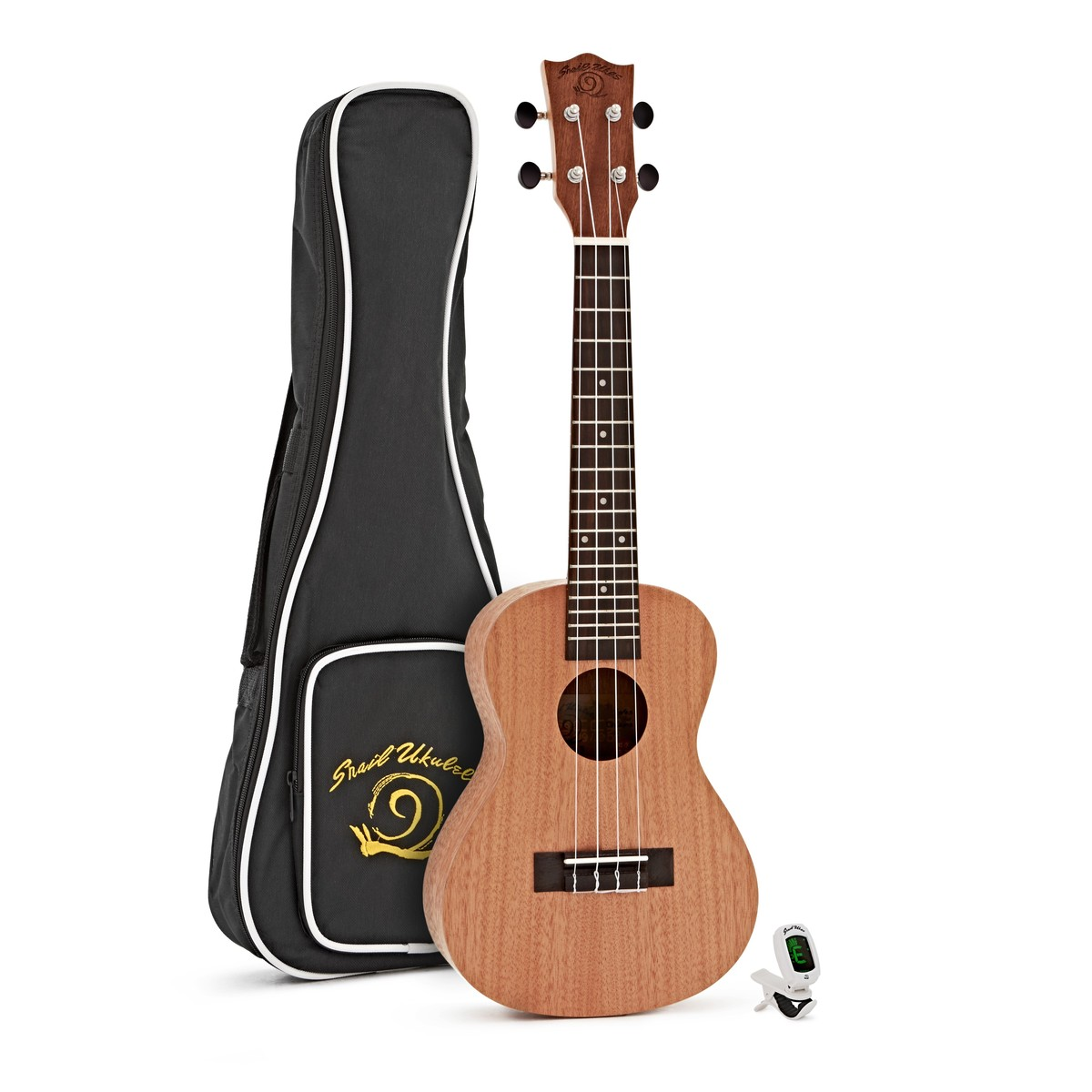 snail c 03 mahogany ukulele with free gig bag and tuner at gear4music. Black Bedroom Furniture Sets. Home Design Ideas