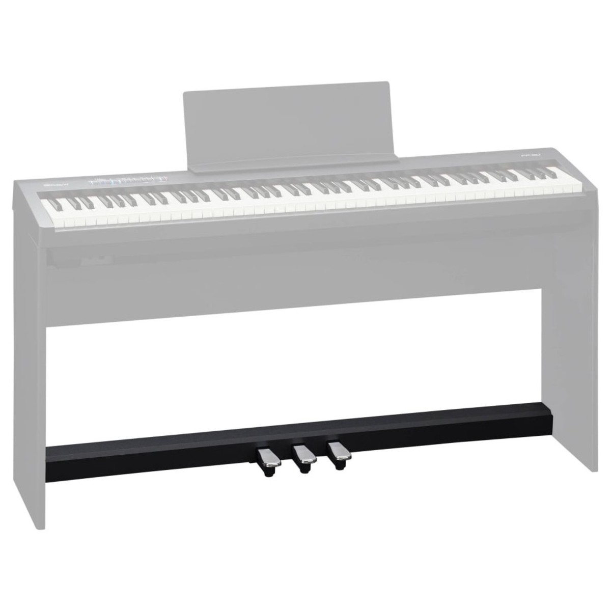 roland kpd 70 triple pedal for fp 30 digital piano black b stock at gear4music. Black Bedroom Furniture Sets. Home Design Ideas