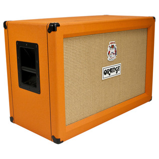 Orange PPC212 2 x 12 Closed Back Cabinet (Front Left)