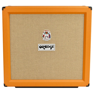 Orange PPC412 4 x 12 Closed Back Cabinet (Front)