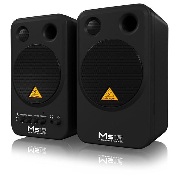 Behringer MS16 Studio Monitors, Pair