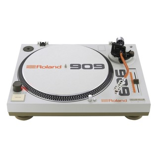 Roland TT-99 Turntable and DJ-99 Mixer Bundle - Turntable Front