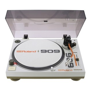 Roland TT-99 Turntable and DJ-99 Mixer Bundle - Turntable Open