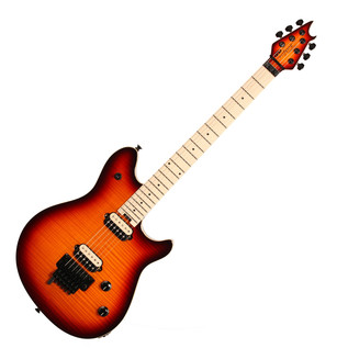 EVH Wolfgang Special Flamed Maple Guitar, MN 3-Tone Cherry Burst