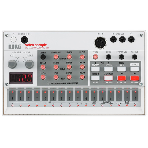 Korg Volca Sample, Digital Sample Sequencer