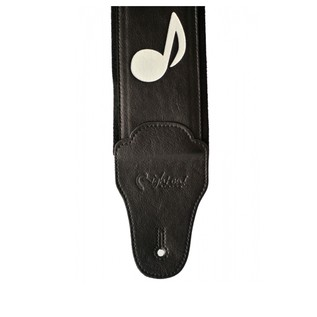 Right On Straps BASSMAN Stevie Guitar Strap, Black