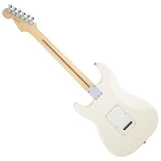 Fender American Standard Stratocaster, MN, Olympic White rear