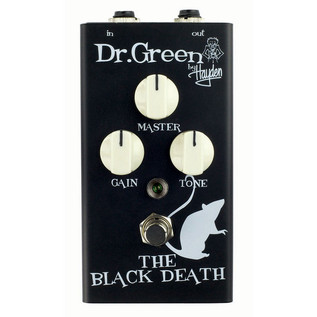 Dr Green The Black Death Heavy Distortion Pedal