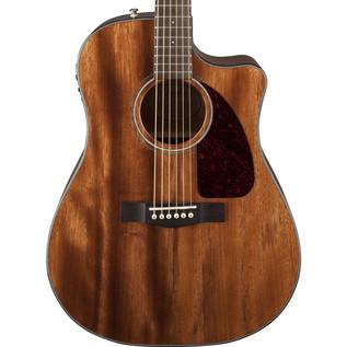 Fender CD-140SCE Electro-Acoustic Guitar, All Mahogany