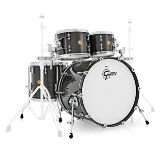Gretsch New Classic 22 Fusion 4pc Shell Pack Black Sparkle