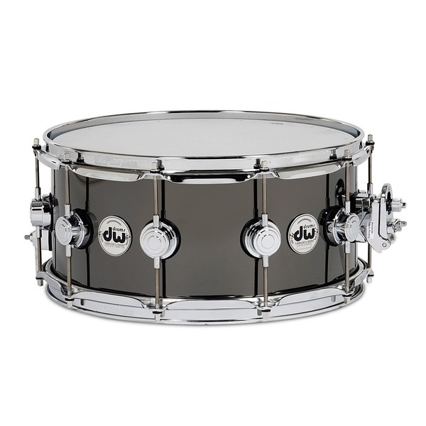 "DW Black Nickel Over Brass, 14"" x 5.5"" Snare Drum"