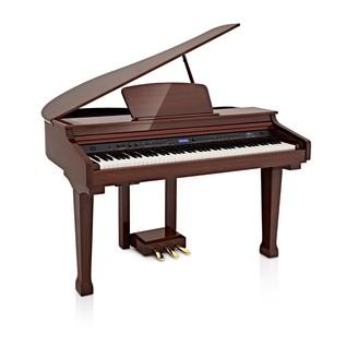 GDP-100 Grand Piano by Gear4music, Polished Mahogany
