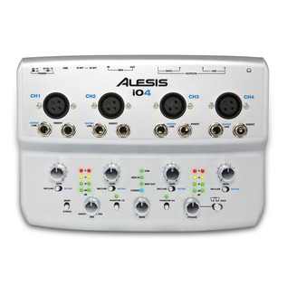 Alesis iO4 Four-Channel USB 24-Bit Recording Interface