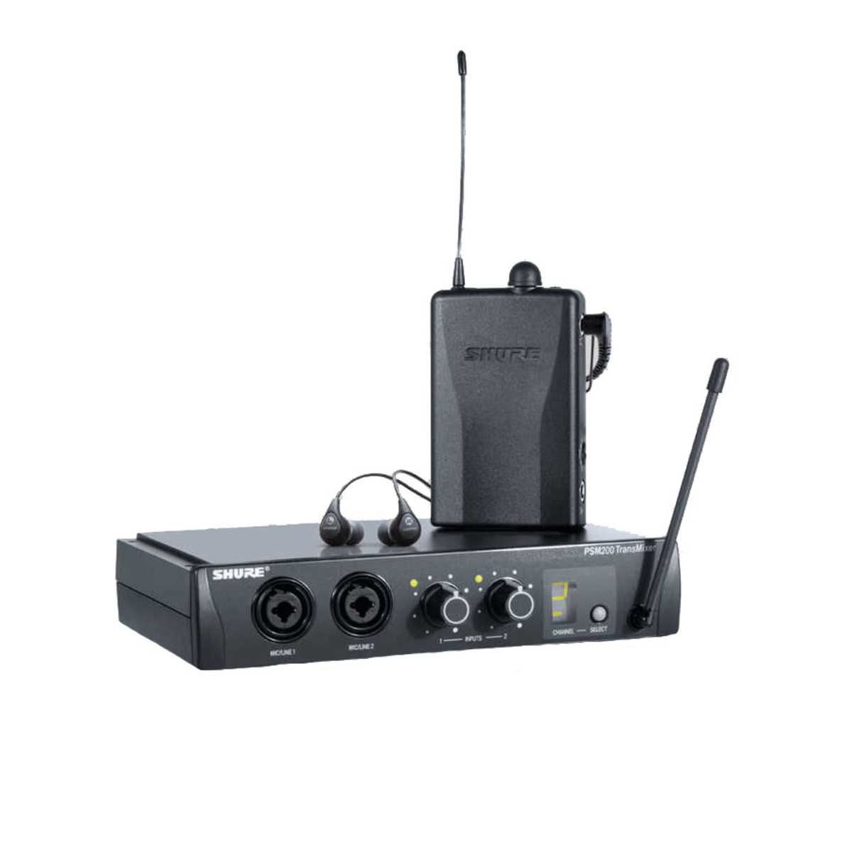 shure psm200 wireless in ear monitor system with se112 earphones b stock at gear4music. Black Bedroom Furniture Sets. Home Design Ideas