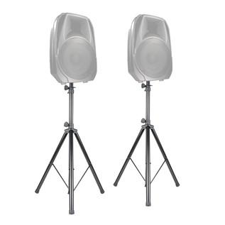 ADJ SPSX2B Speaker Stands