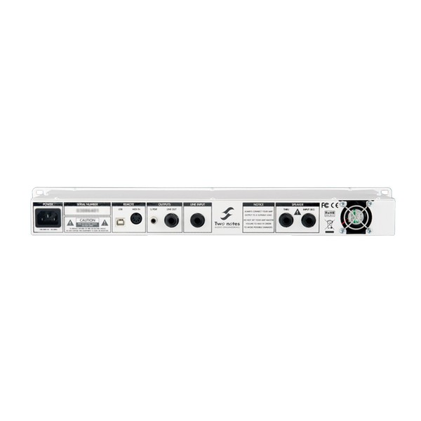 Two Notes Torpedo Live Professional Loadbox With Digital Miking