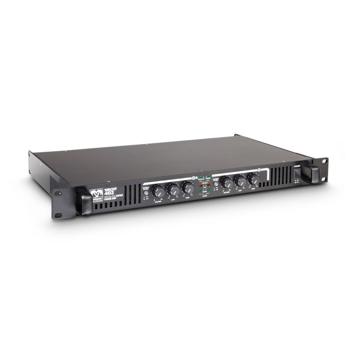 palmer macht 402 19 stereo power amp for guitar at gear4music. Black Bedroom Furniture Sets. Home Design Ideas