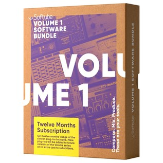 Softube Plugin Collection Volume 1, 12 Month Subscription - Boxed