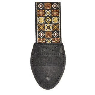 Souldier Guitar Strap Woodstock, Gold