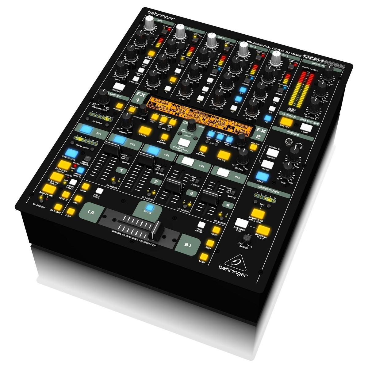 Behringer ddm4000 table de mixage num rique - Logiciel table de mixage dj gratuit francais ...