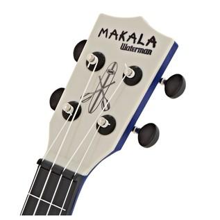 Makala Waterman MK-SWS/BL Soprano Ukulele, Swirl Blue