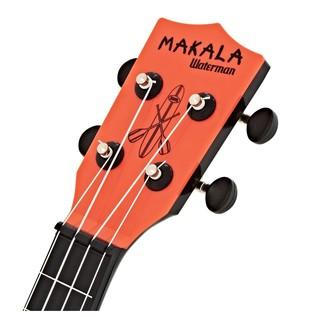 Makala Waterman MK-SWB/RD Soprano Ukulele, Tomato Red