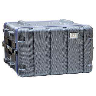 NJS Heavy Duty ABS Rack Case, 6U