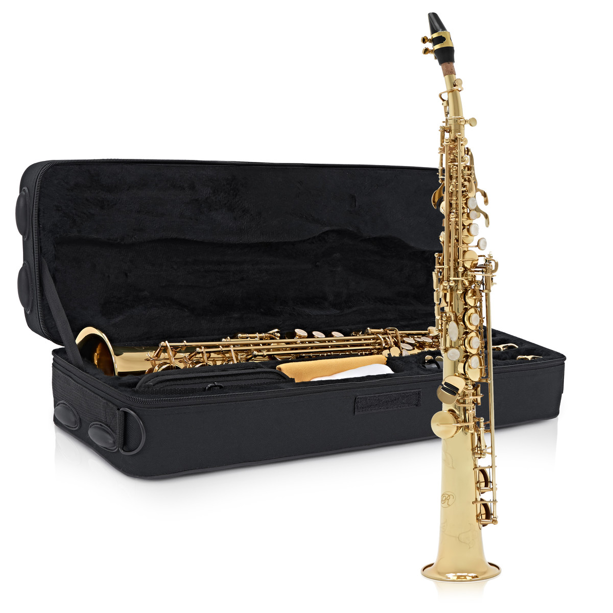 Click to view product details and reviews for Rosedale Intermediate Soprano Saxophone By Gear4music B Stock.