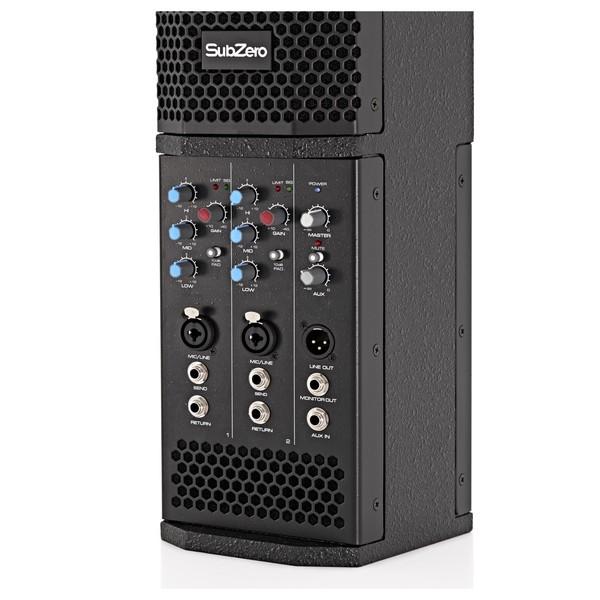 SubZero SZS-L64A Inline Active Speaker Bundle