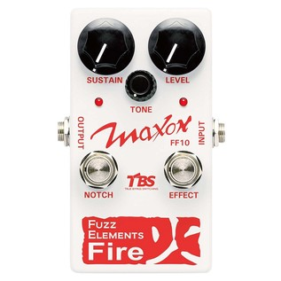 Maxon FF10 Fuzz Elements Fire Pedal