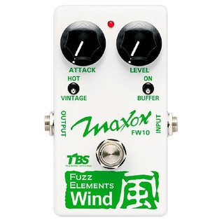 Maxon FW10 Fuzz Elements Wind Pedal
