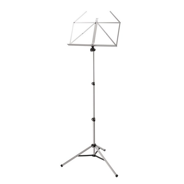 K&M Elegant Music Stand, Nickel Plated