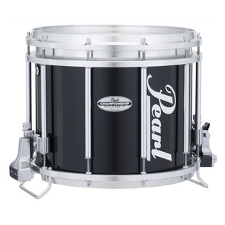 Pearl Championship Maple 14'' x 12'' Marching Snare, Midnight Black