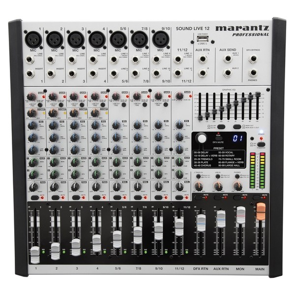 Marantz Sound Live 12 - Top