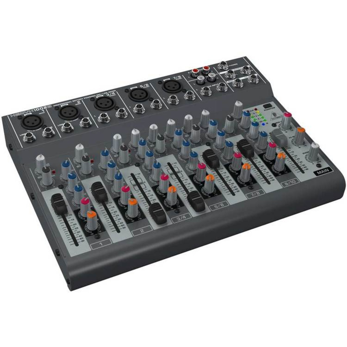 Behringer xenyx 1002b table de mixage bo te ouverte gear4music - Table de mixage behringer ...