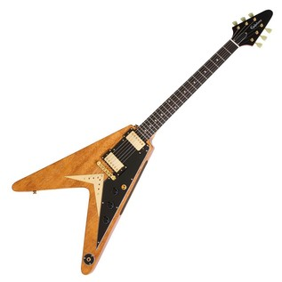 Epiphone Ltd Ed Korina Flying-V Electric Guitar, Natural