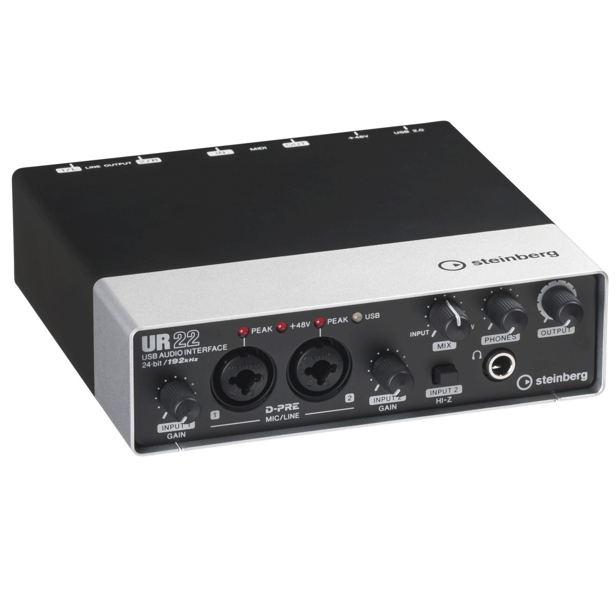 steinberg ur22 mk 2 usb audio interface box opened at gear4music. Black Bedroom Furniture Sets. Home Design Ideas